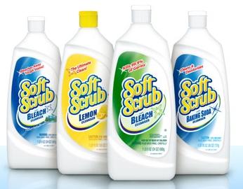 soft scrub bathroom cleaner