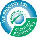 In our green house cleaning services we are using Gree Seal certified products.